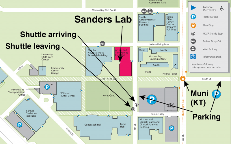 Sanders Lab - Contact
